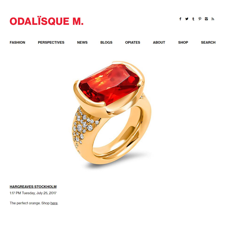 Odalisque Magazine 07/17