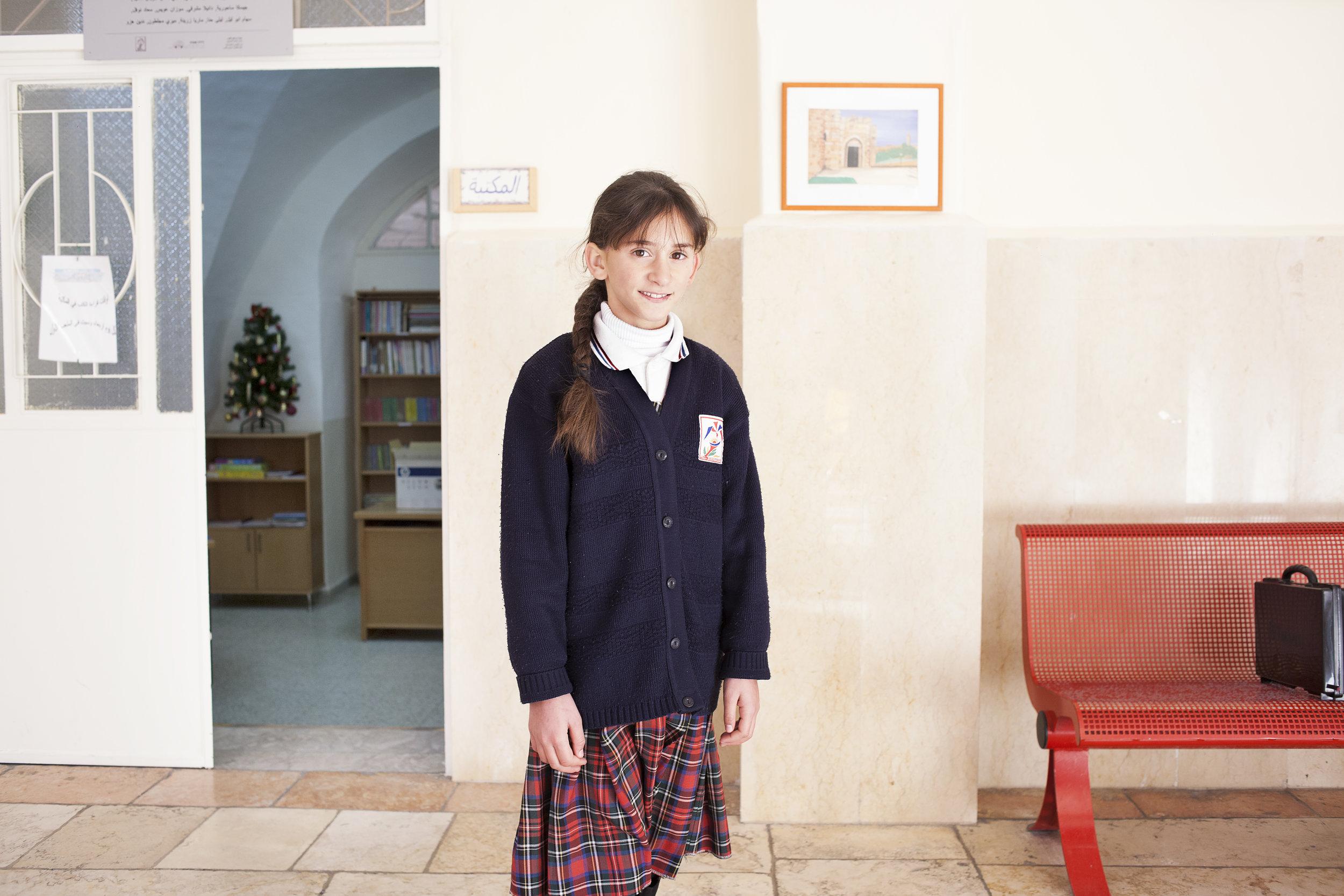 Terra Santa girls' school in the Old City, Jerusalem
