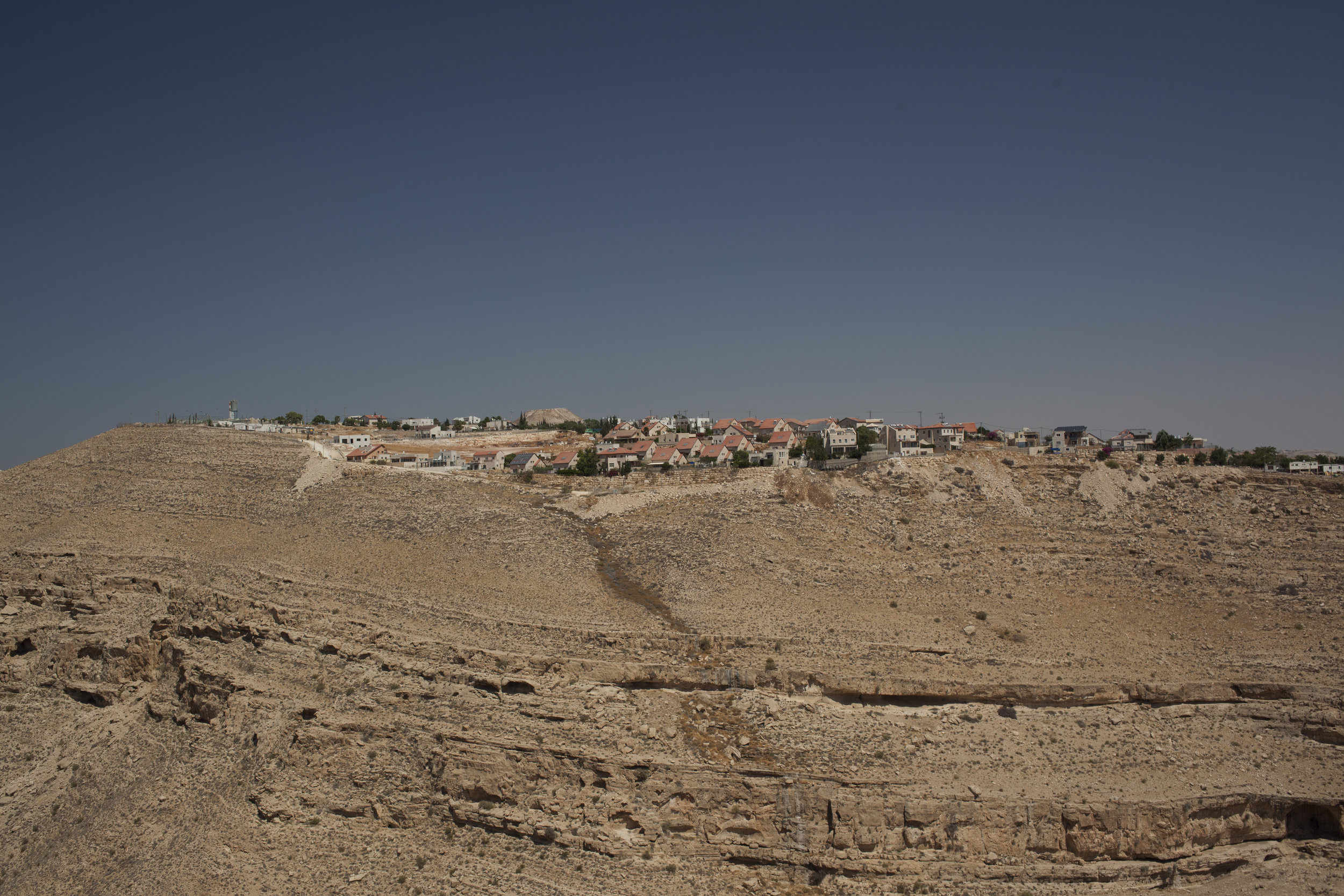Tekoa (Dalet) - is the community settlement 16 km south from Jerusalem. The project exposes the problematic issue in Israel society.