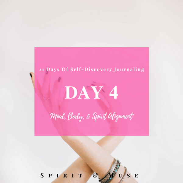 Self-Discovery Journaling Prompt (Mind Body Spirit)