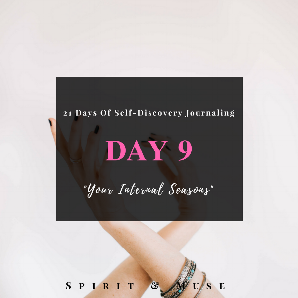 Self-Discovery Journaling Prompt (Inner Seasons)