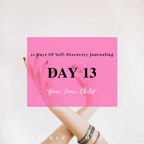 Self-Discovery Journaling Prompt (Inner Child)