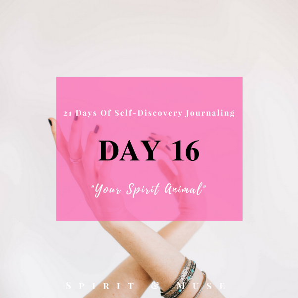 Self Discovery Journaling Day 16