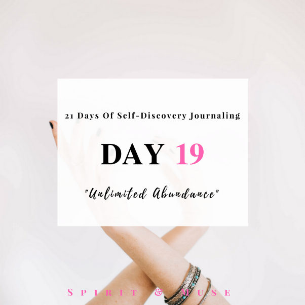Self Discovery Journaling Day 19