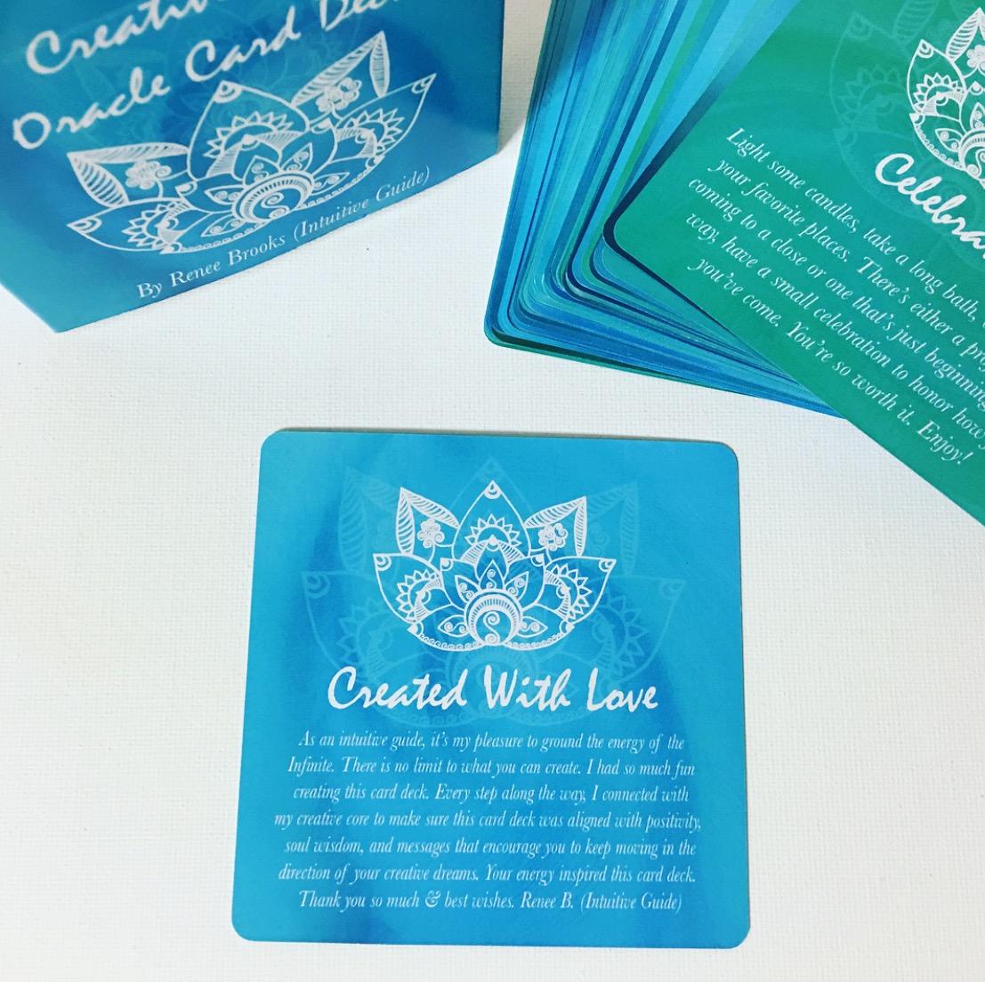 Creative Core Oracle Card Deck w/ Tuck Box