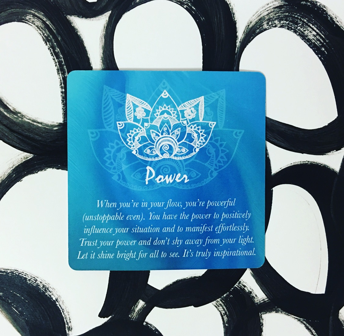 Creative Core Oracle Cards ~ Power