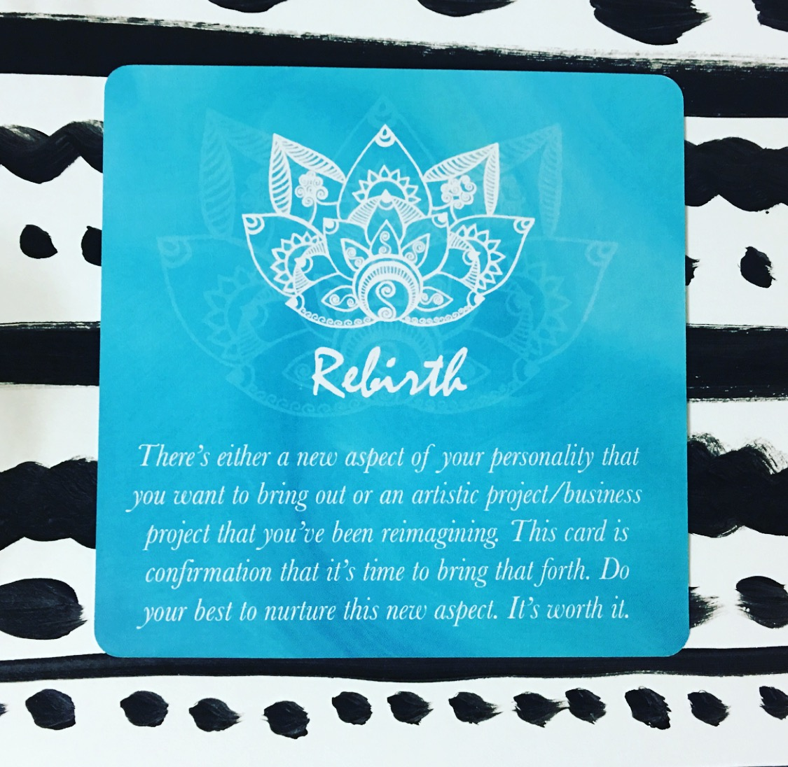 Creative Core Oracle Cards ~ Rebirth