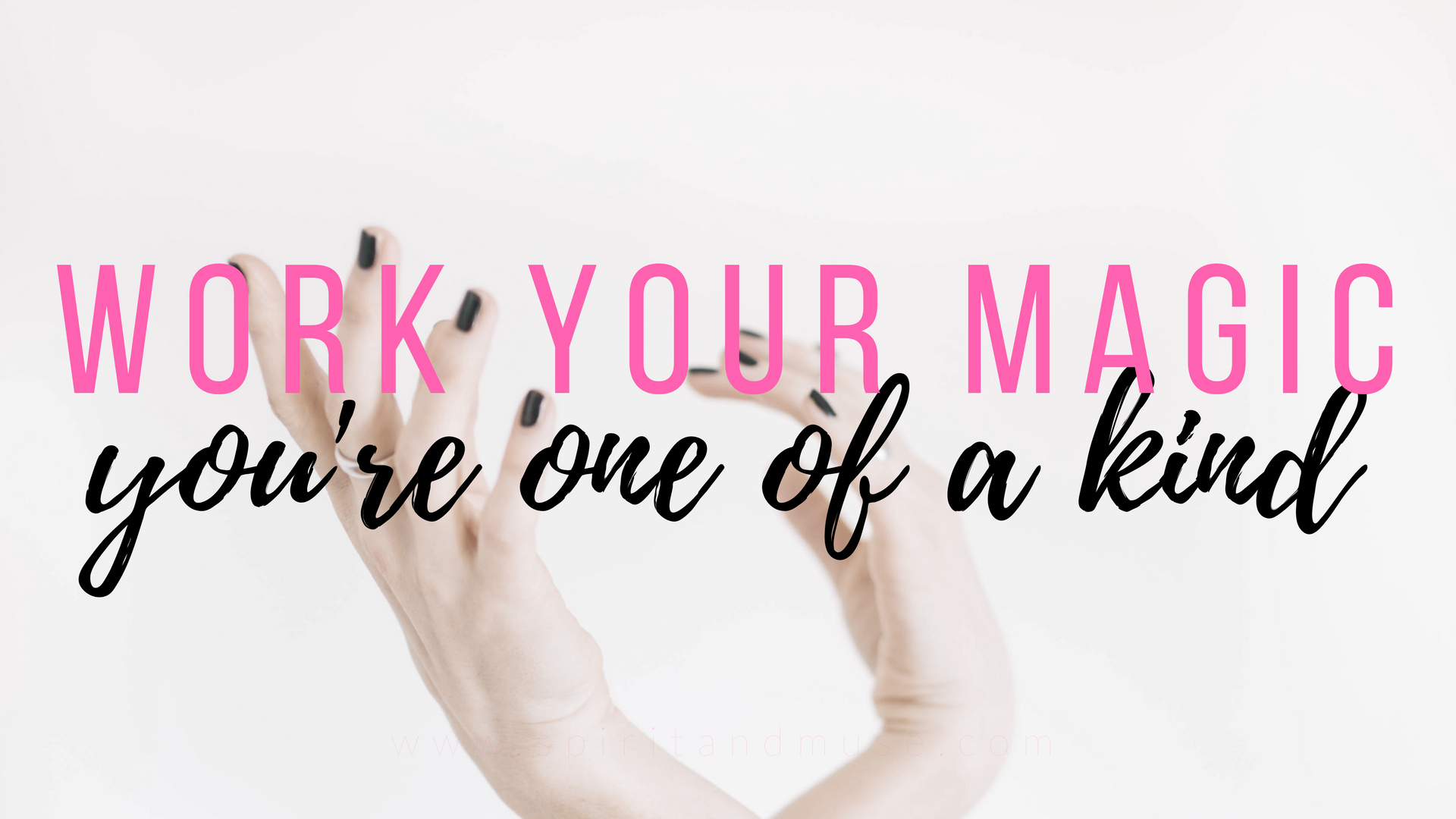girl boss - work your magic - free desktop wallpaper