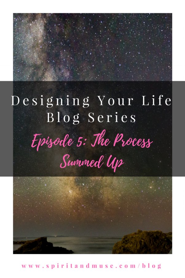 Designing Your Life Episode 5 - The Process Summed Up