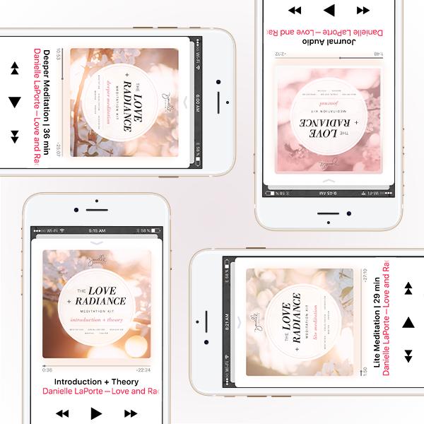 Danielle LaPorte The Love + Radiance Kits