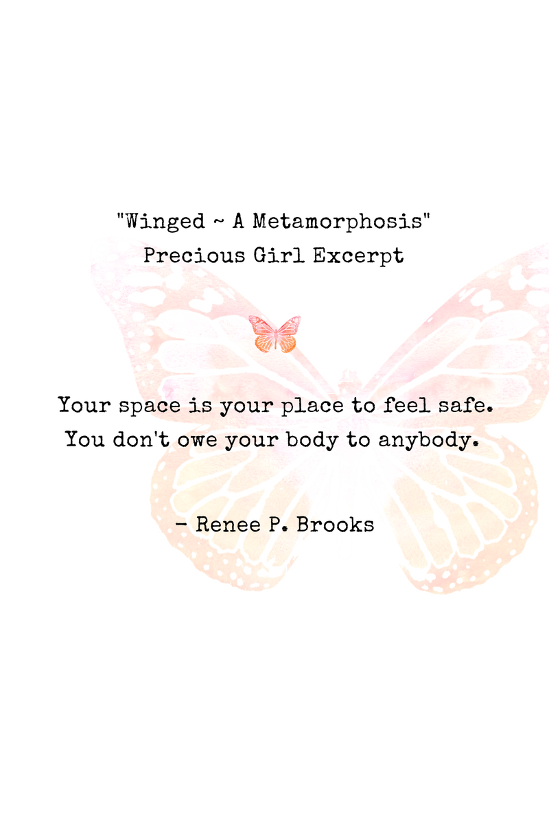 Winged Precious Girl Poetry Excerpt