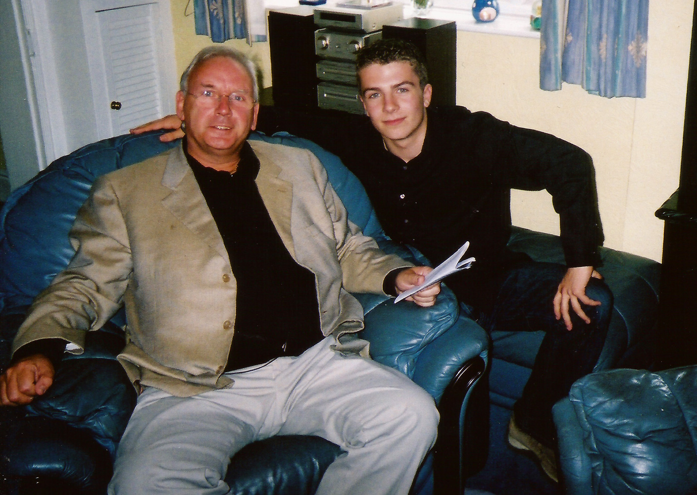 Image of Matt Johnson and Pete Waterman from Popstars The Rivals, One True Voice.