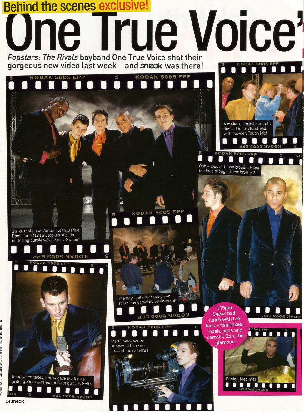 One True Voice magazine article