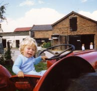 Me on the farm