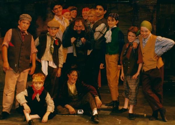 Me bottom left - Fagin's gang 1996