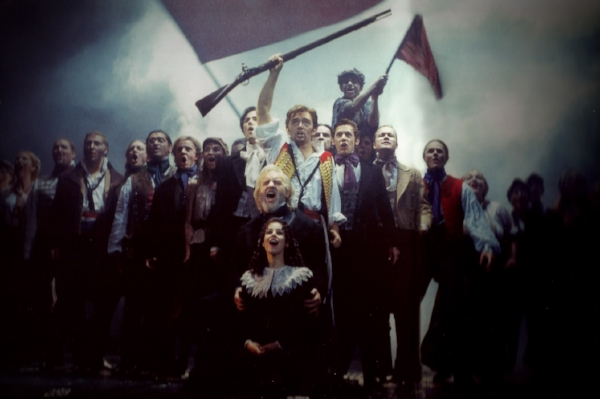 Me with the West End cast of Les Miserables