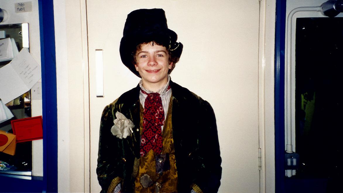 Me as the Artful Dodger in Oliver