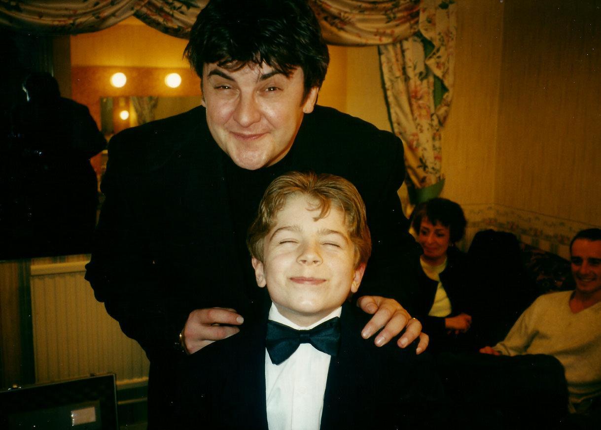 Matt with Joe Pasquale