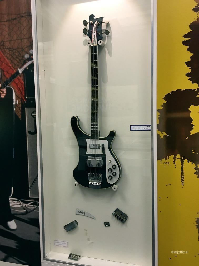 Image of Matt Johnson visiting The Jam Exhibition in Liverpool whilst on a artist creative day.
