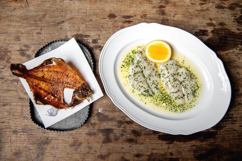 LA TIMES - Where to get crudo-quality fish.