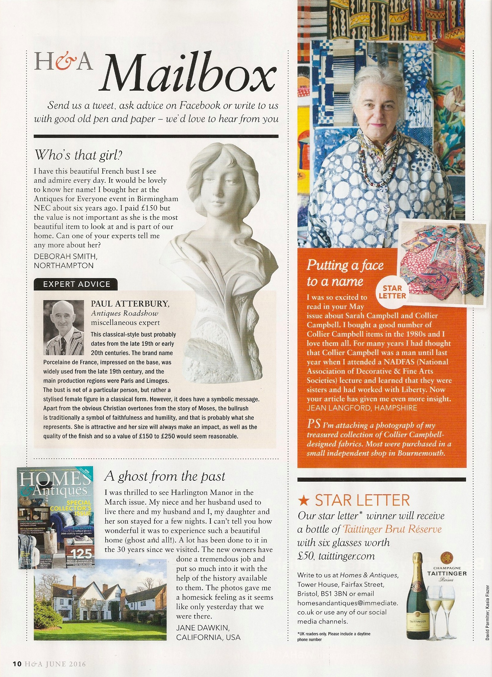 Homes & Antiques, page 10, June 2016