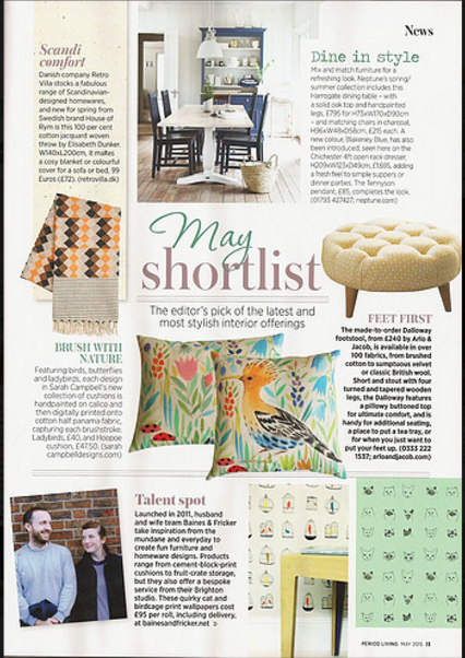 Period Living page 13, February 2015