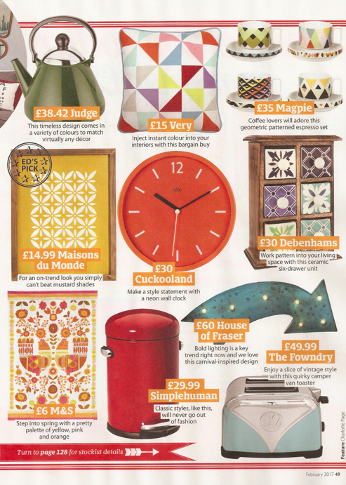 Home Style, February 2017, page 49