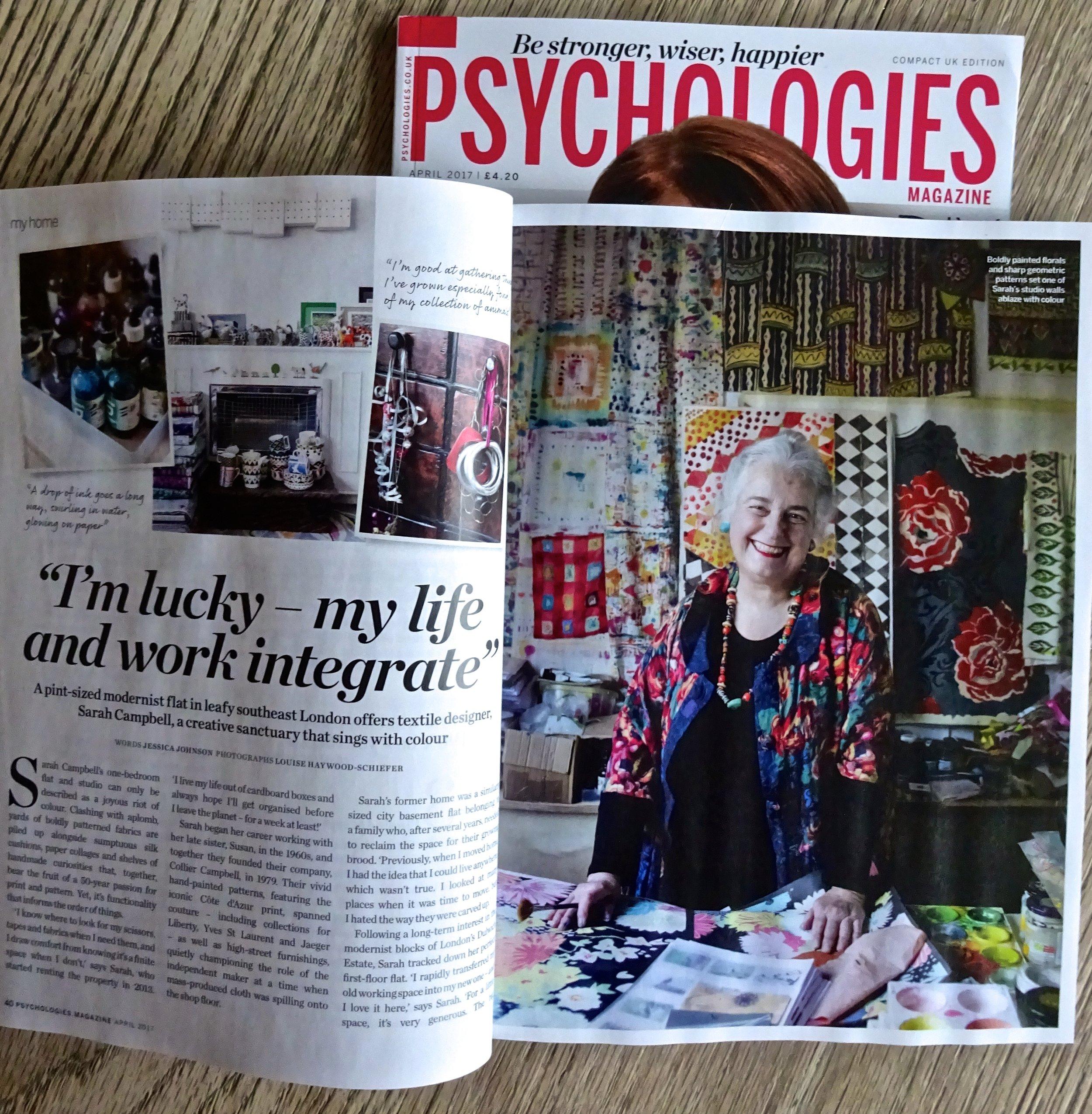 Psychologies, February 2017