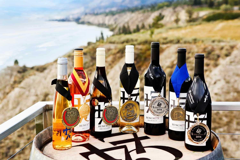 Award-winning wines from    Bench 1775