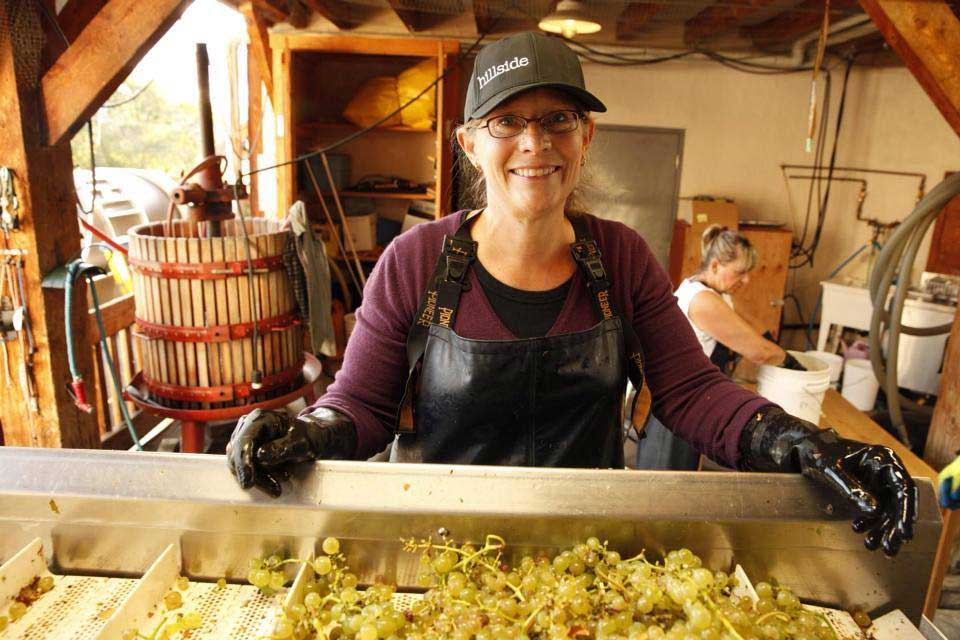 Winemaker Kathy Malone