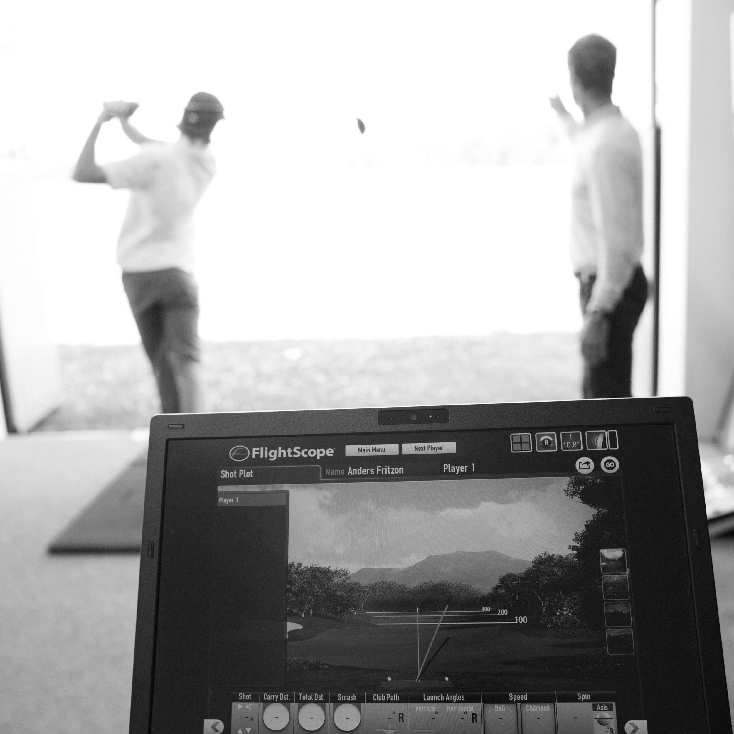 Gratis analys av ditt golfset - Vi mäter upp dina klubbor, kollar igenom setet och analyserar dina slag med hjälp av vår nya Flightscope i golfstudion. Har du alla klubbor du behöver? Har du rätt skaft, lie, loft, längd och grepp? Efter analysen har du svaren!