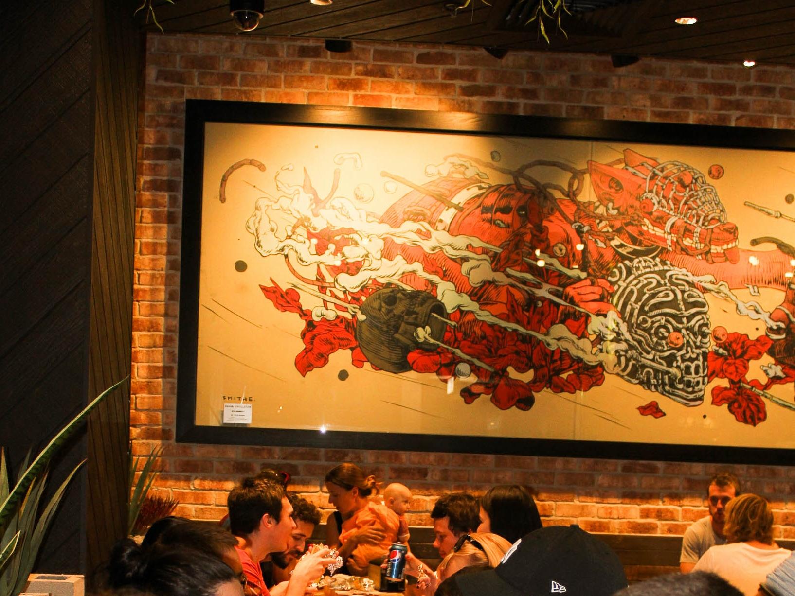 Wollongong SMITHE mexican taqueria art advisory