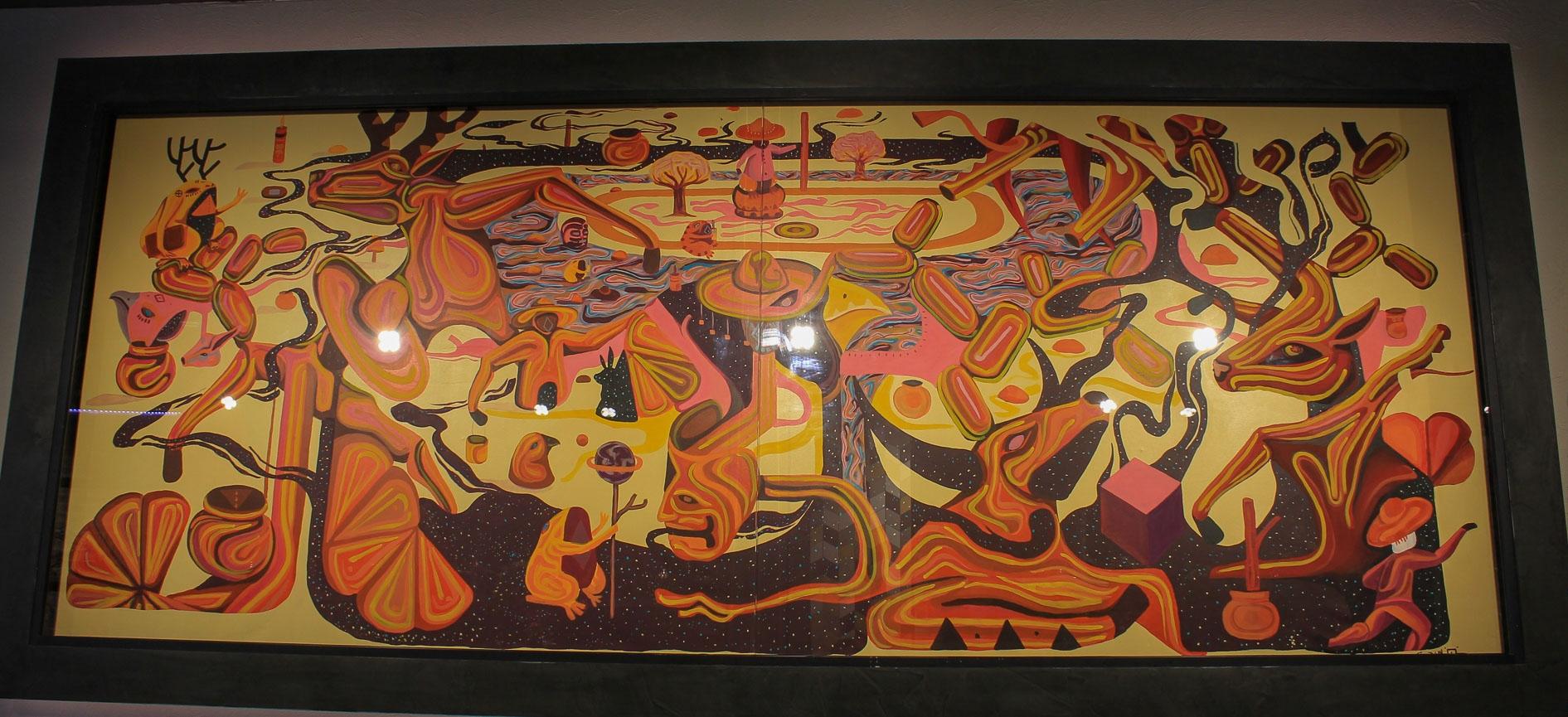 Chermside Sanes Mexican Art collection arto studio