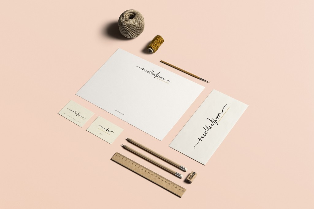 Branding and graphic design for stationary