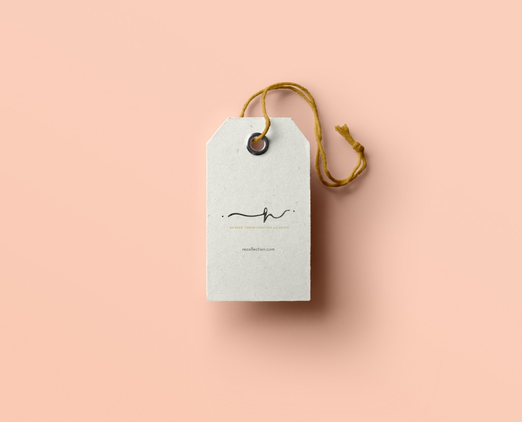 Lettering design for fashion brand