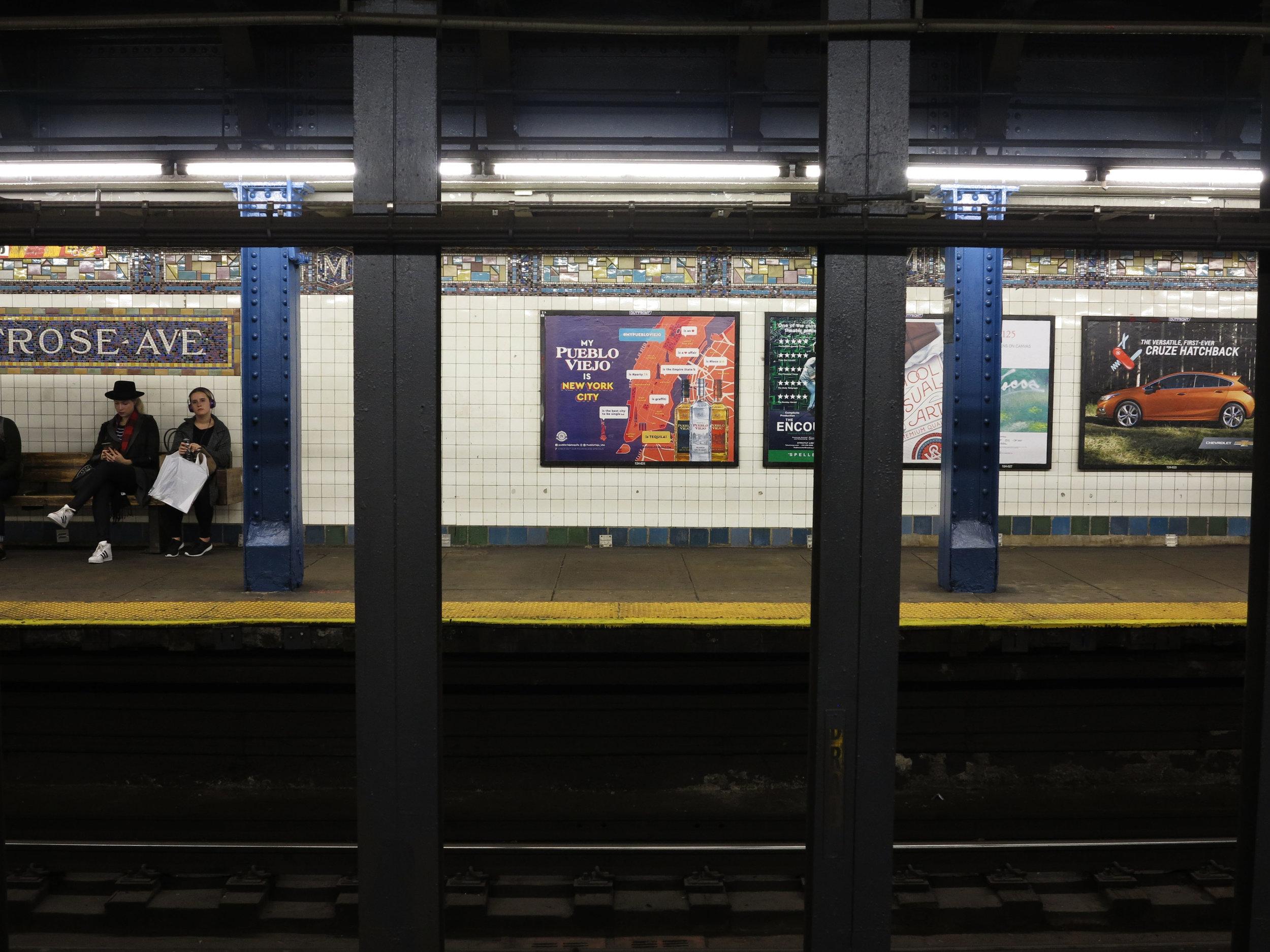 new york advertising campaign subway