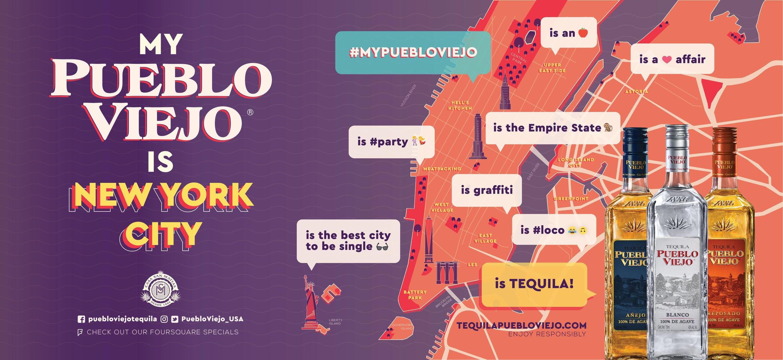 New York_map pueblo viejo tequila