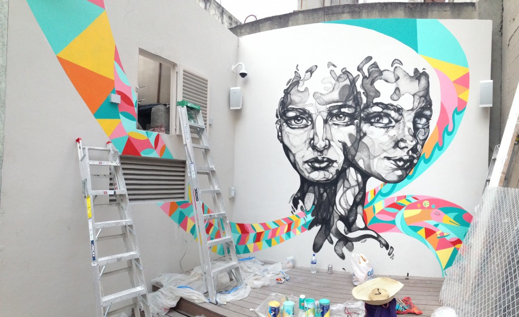 Nike Woman Mexico Mural Handpainted