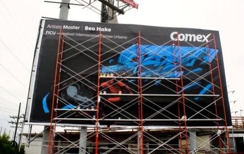 beo hake billboard artist campaign