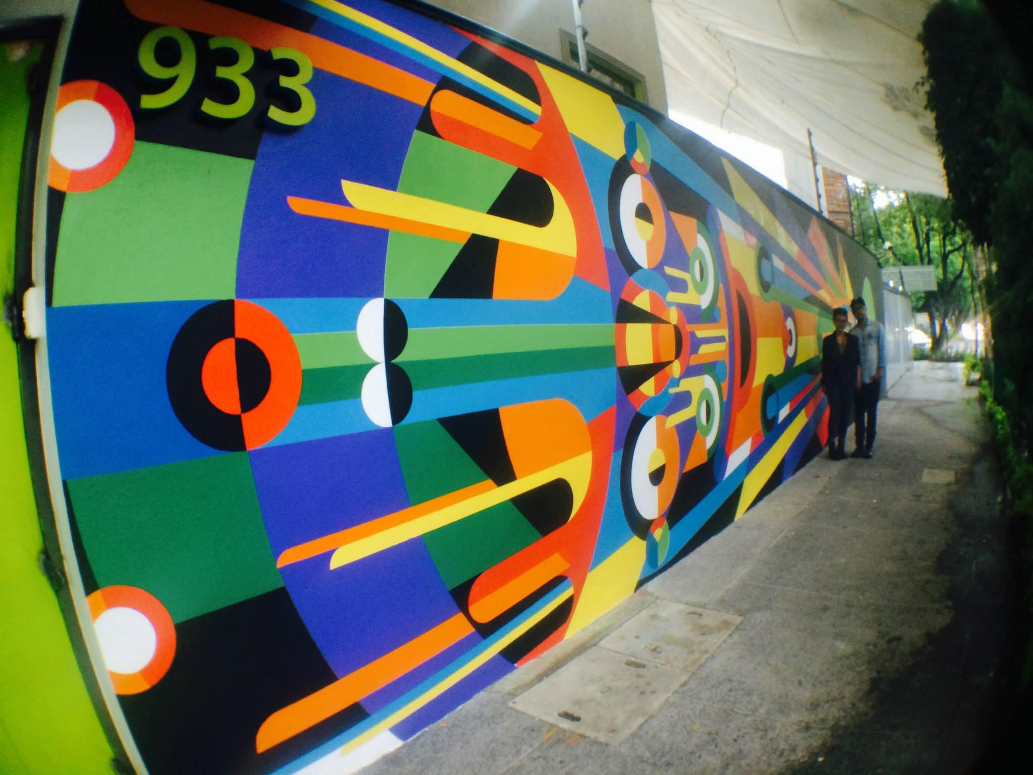 petri pirata valla geometric street art