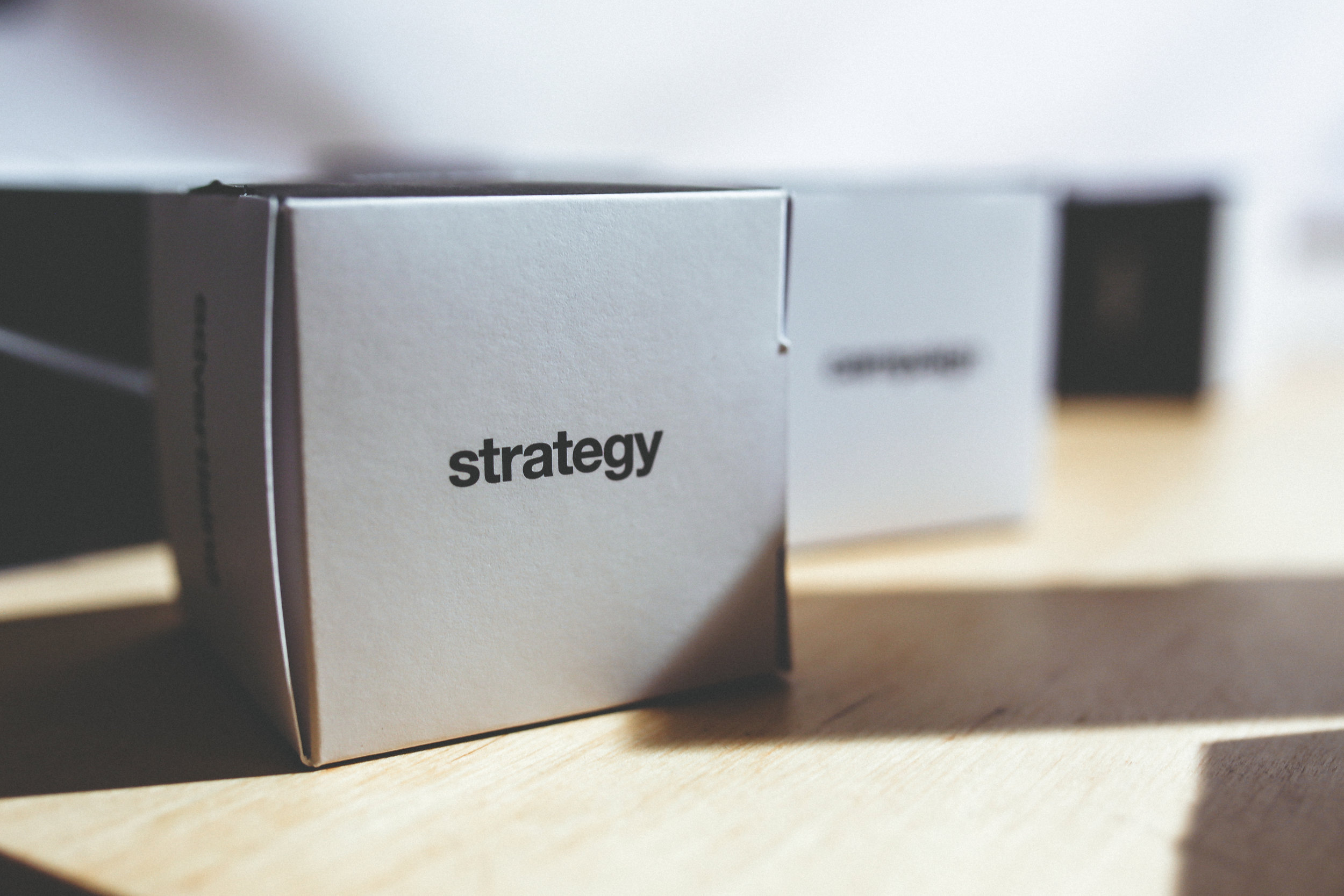 Strategy and Market Intelligence