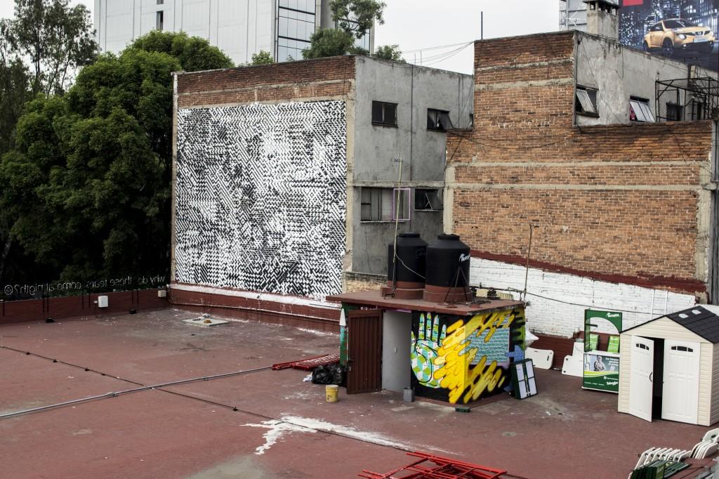 Street art in Mexico City by Sten & Lex