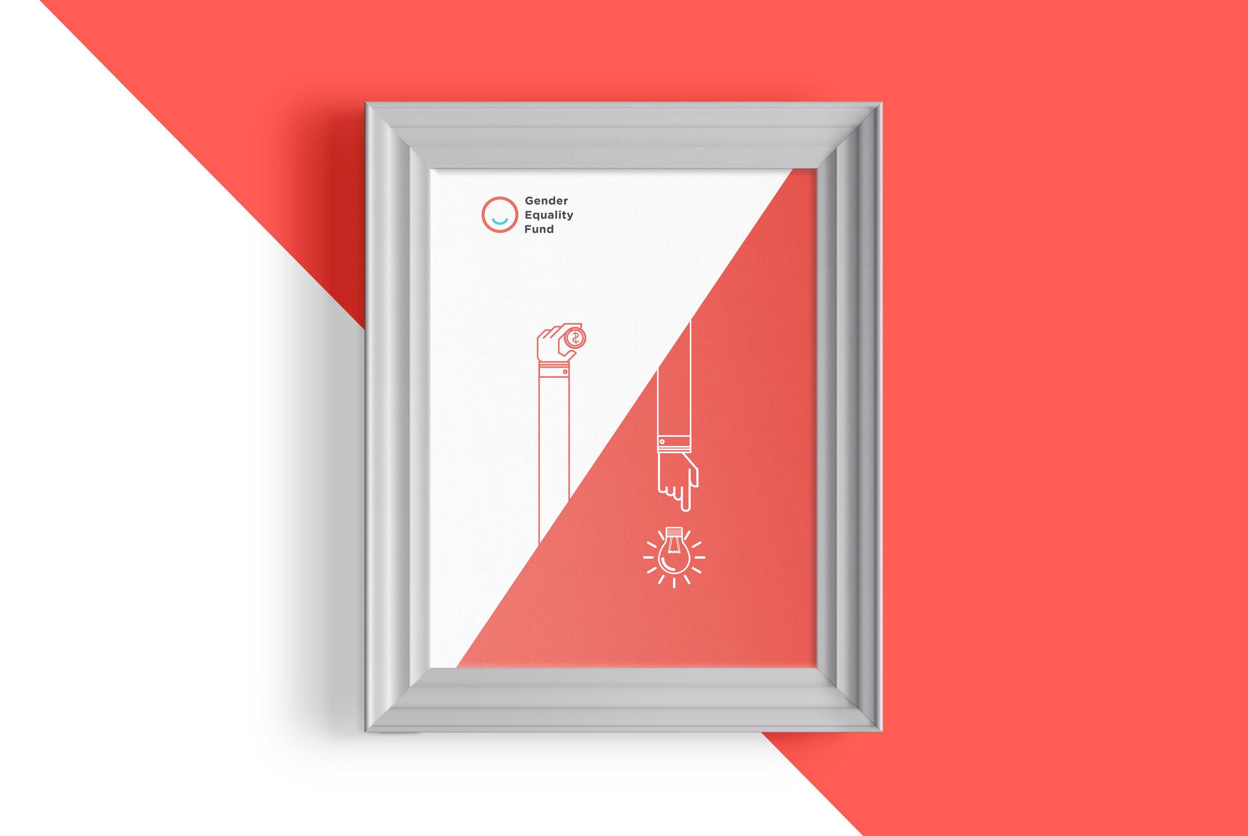 Poster graphic design visualization