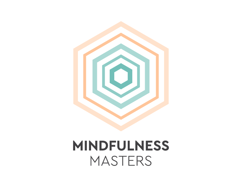 Logo graphic design for mindfulness masters