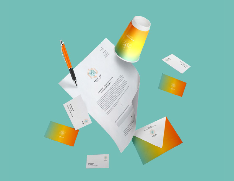 Graphic design for stationary