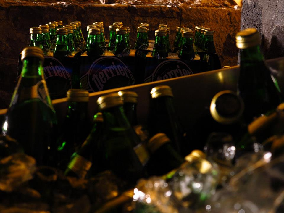 perrier brand activation