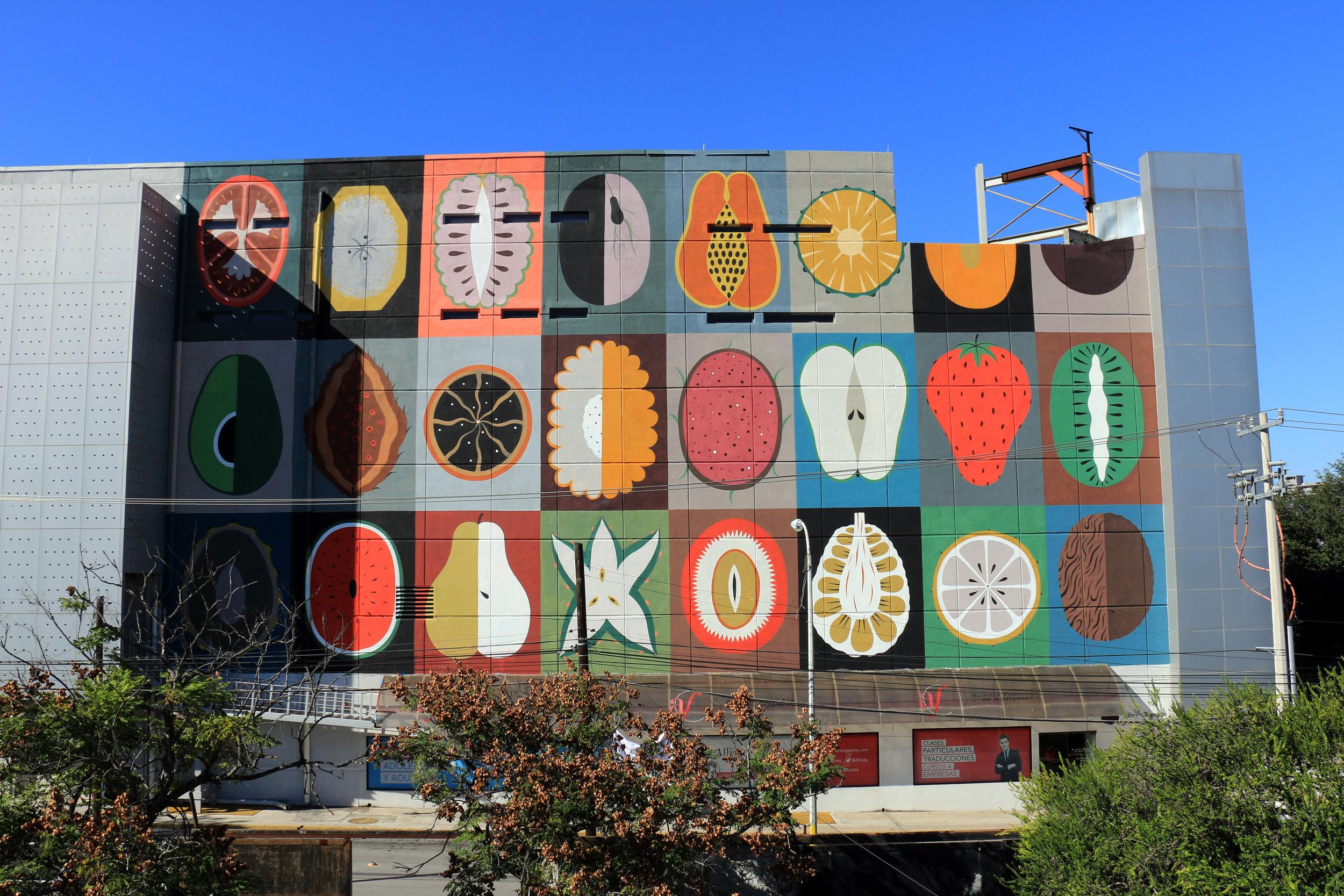 Agostino Iacurci colorful mural art