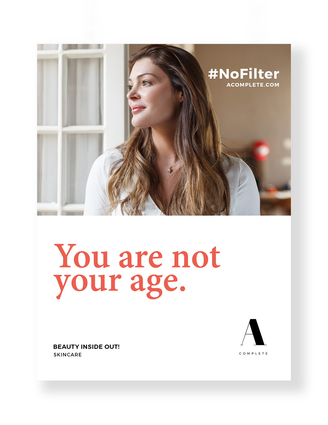 #NoFilter poster ad campaign