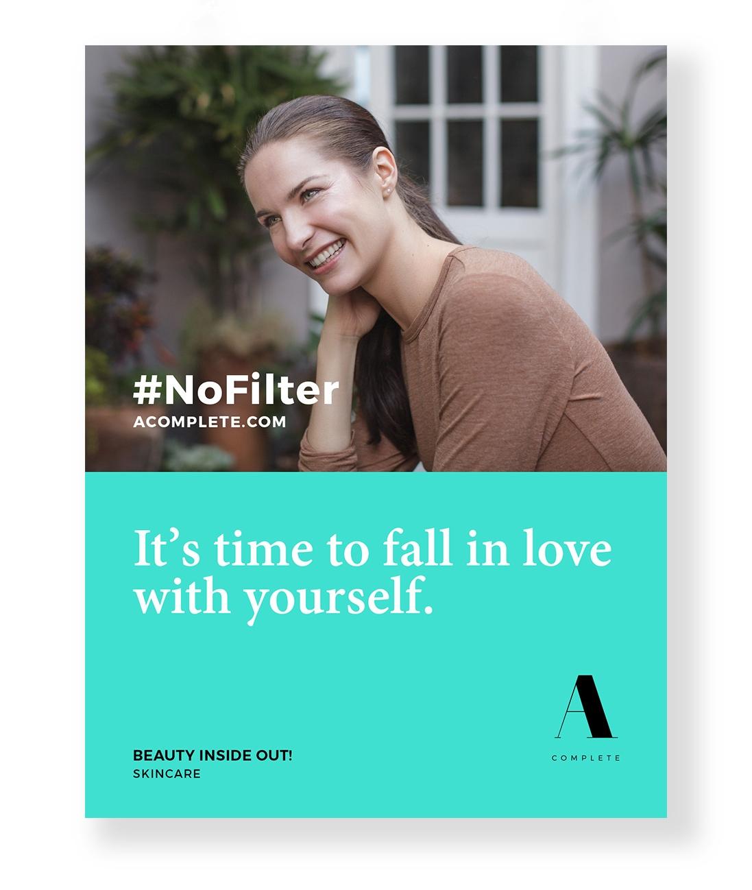 Poster graphic design ad campaign