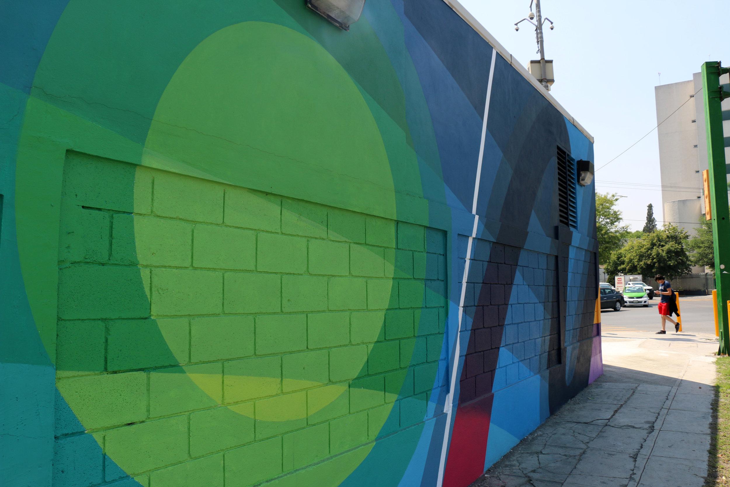 Detail art wall